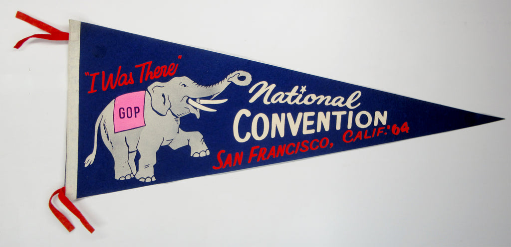 """I Was There"" GOP National CONVENTION SAN FRANCISCO, CALIF. '64"