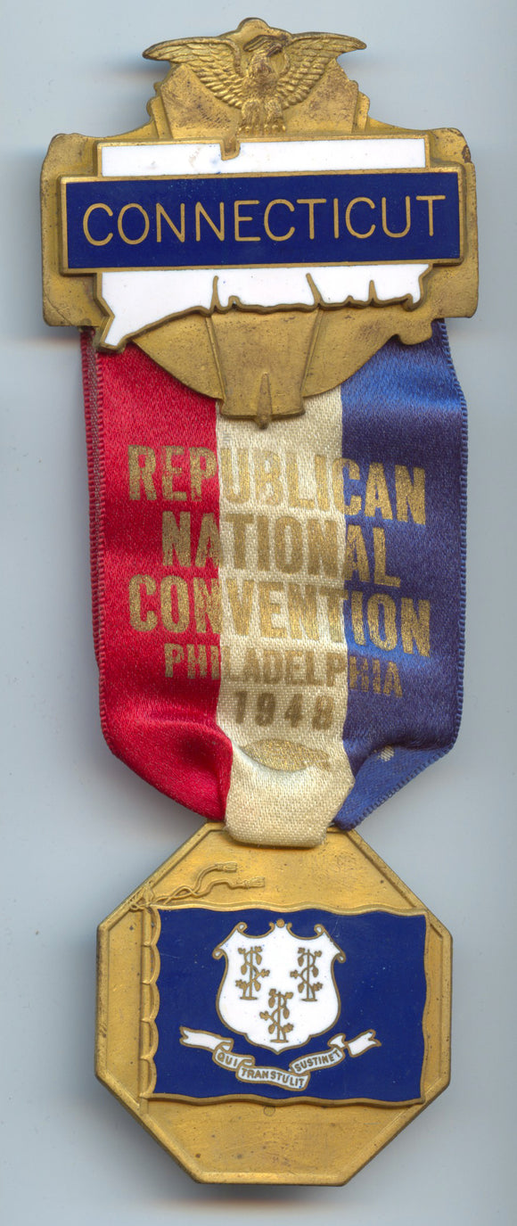 CONNECTICUT / REPUBLICAN NATIONAL CONVENTION PHILADELPHIA 1948