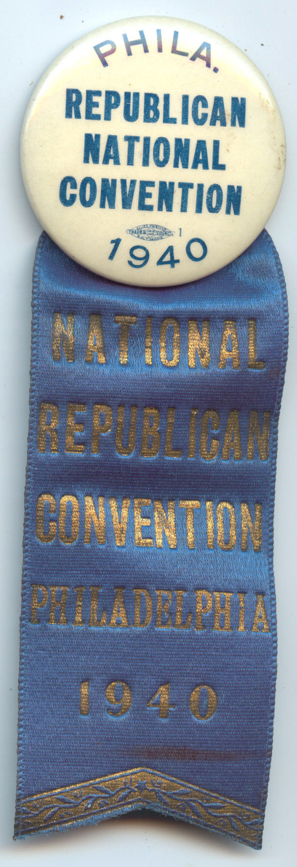 NATIONAL REPUBLICAN CONVENTION PHILADELPHIA 1940