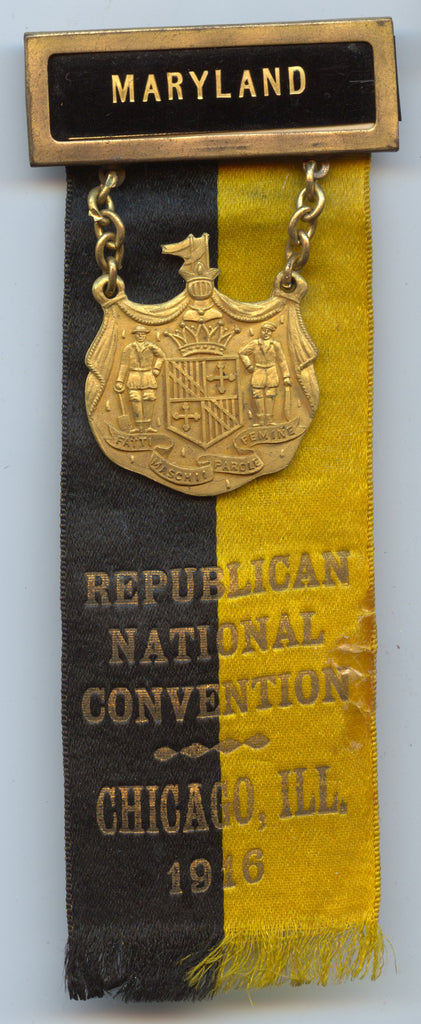 MARYLAND / REPUBLICAN NATIONAL CONVENTION CHICAGO, ILL. 1916