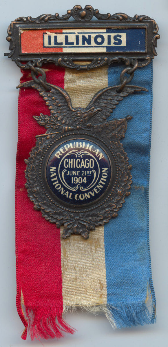 ILLINOIS / REPUBLICAN NATIONAL CONVENTION  CHICAGO JUNE 21ST 1904