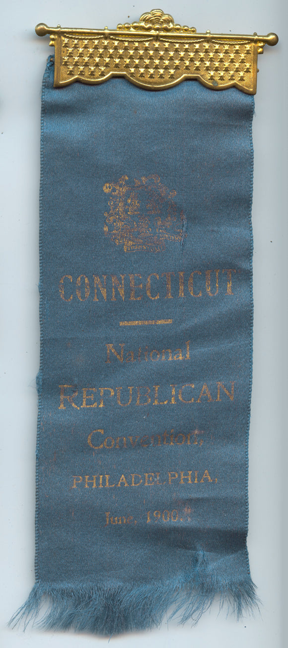 CONNECTICUT National REPUBLICAN Convention, PHILADELPHIA, June, 1900.