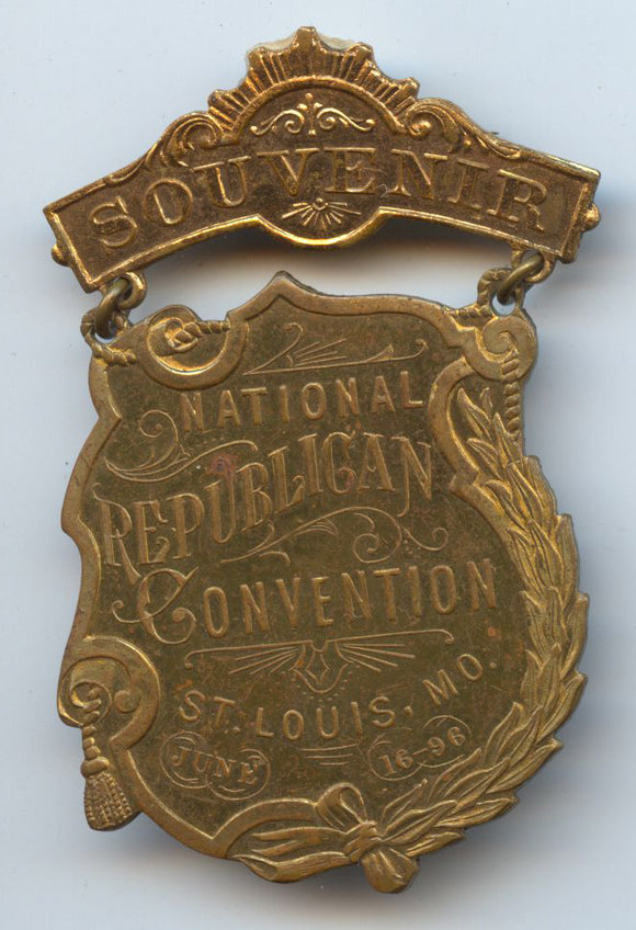 SOUVENIR / NATIONAL REPUBLICAN CONVENTION ST. LOUIS, MO. JUNE 16 - 96.