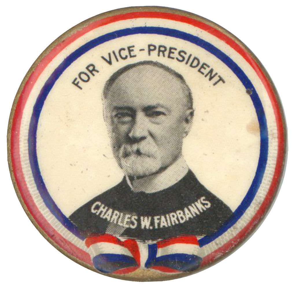 FOR VICE-PRESIDENT  CHARLES W. FAIRBANKS
