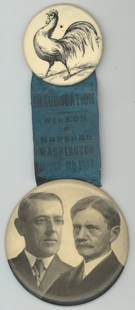 INAUGURATION WILSON AND MARSHAL WASHINGTON March 4th 1913