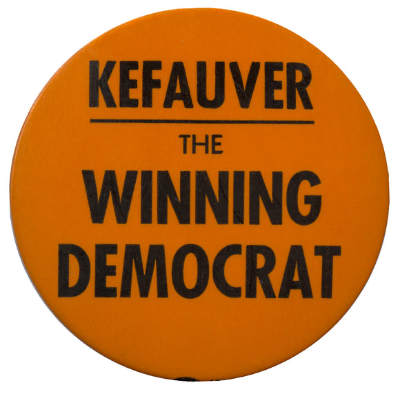 KEFAUVER THE WINNING DEMOCRAT
