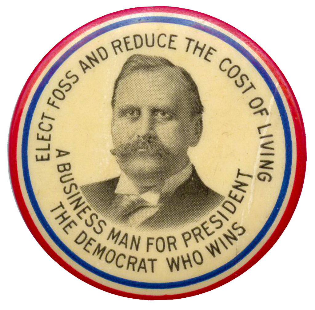 ELECT FOSS ... A BUSINESS MAN FOR PRESIDENT  THE DEMOCRAT WHO WINS