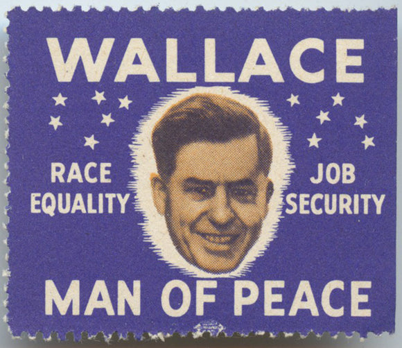 WALLACE  RACE EQUALITY  JOB SECURITY  MAN OF PEACE