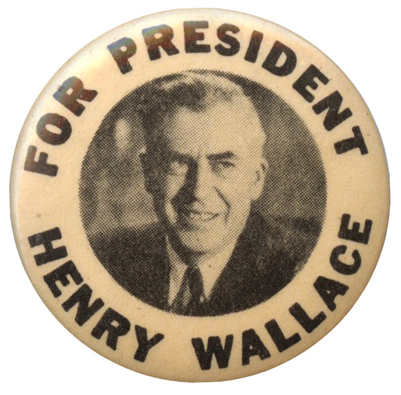 FOR PRESIDENT HENRY WALLACE