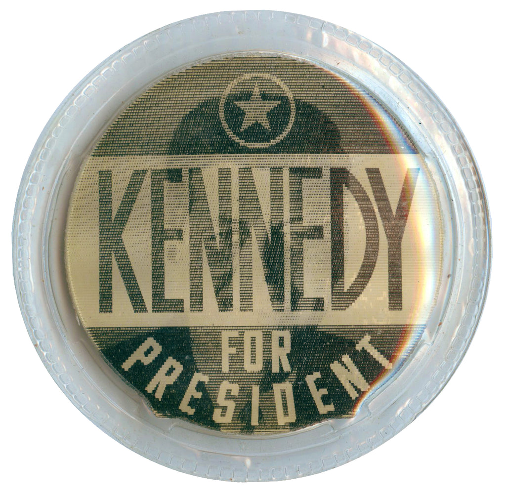 KENNEDY FOR PRESIDENT / VOTE DEMOCRATIC  (black & white variety)