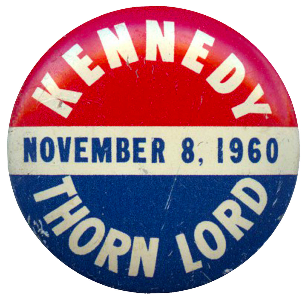 KENNEDY  NOVEMBER 8, 1960  THORN LORD
