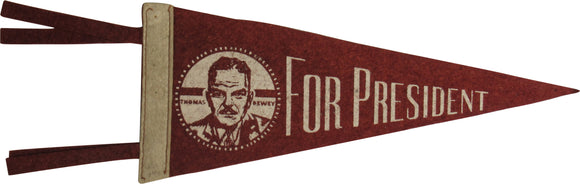 THOMAS DEWEY FOR PRESIDENT
