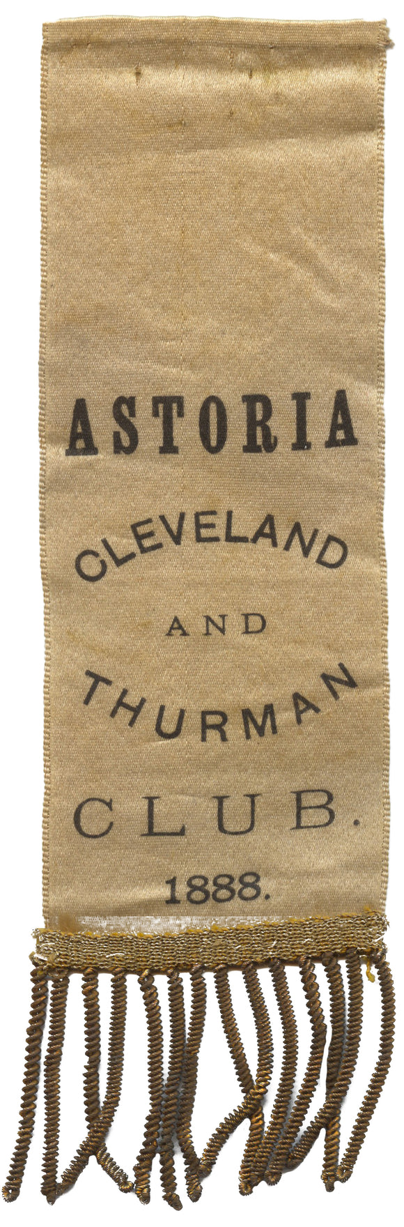 ASTORIA (Oregon) CLEVELAND AND THURMAN CLUB. 1888.