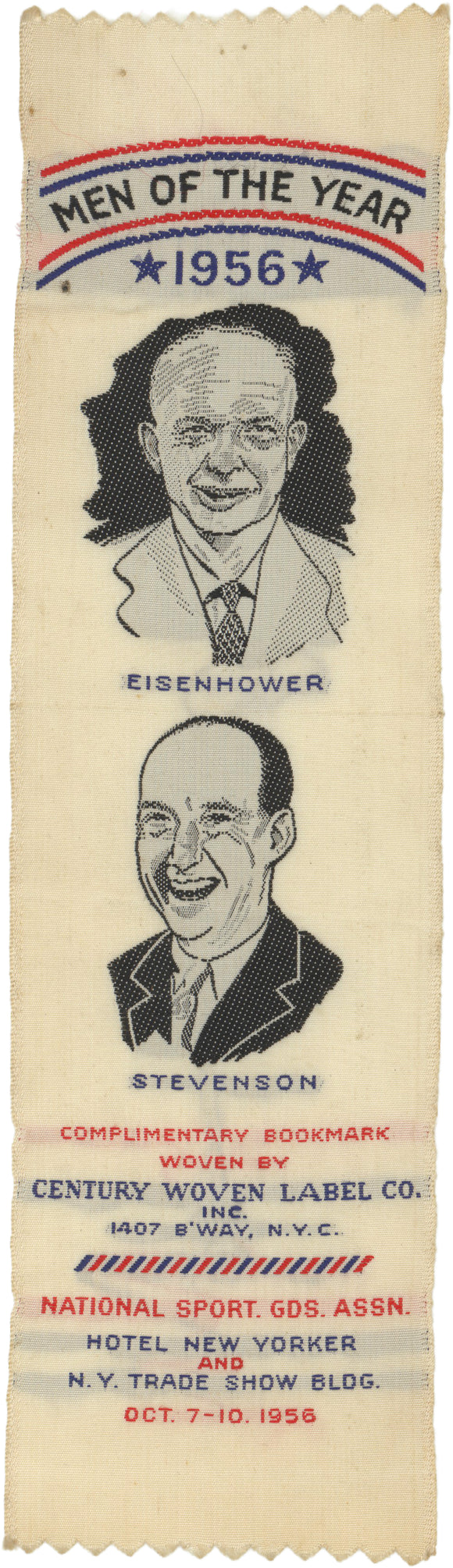 MEN OF THE YEAR 1956  EISENHOWER  STEVENSON