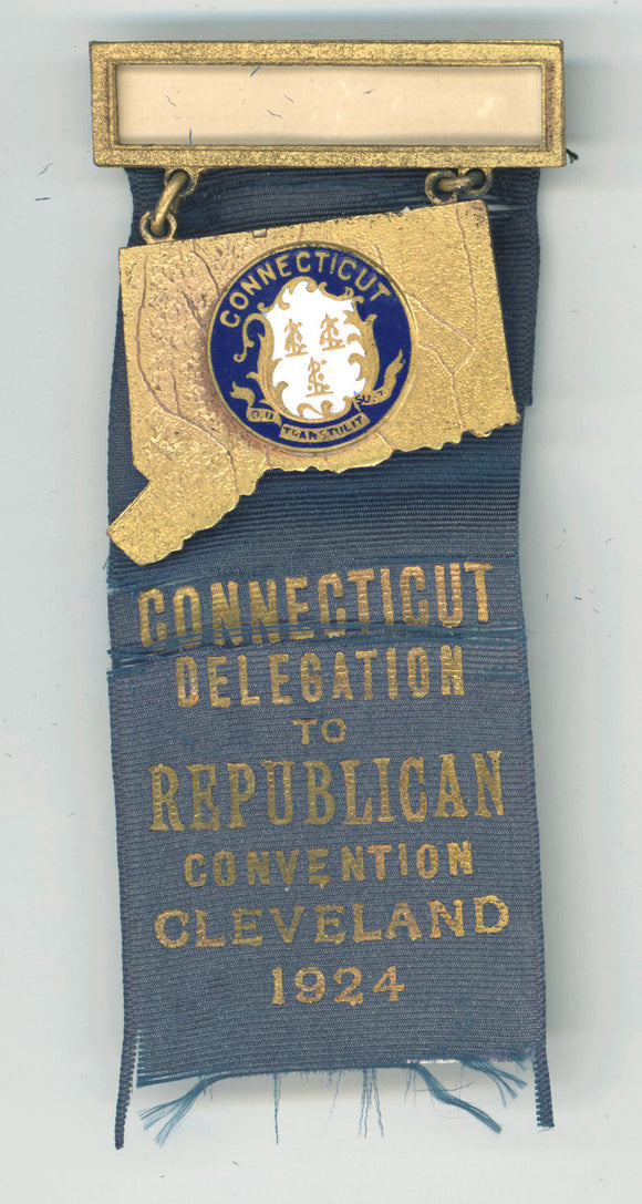 CONNECTICUT DELEGATION TO REPUBLICAN CONVENTION CLEVELAND 1924