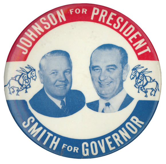 JOHNSON FOR PRESIDENT  SMITH FOR GOVERNOR
