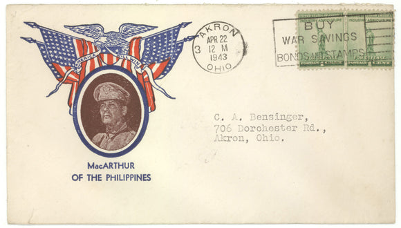 AMERICA WILL WIN  MacARTHUR OF THE PHILLIPINES