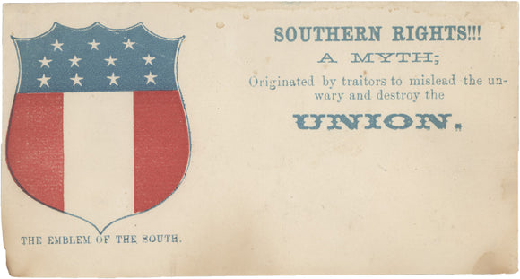 THE EMBLEM OF THE SOUTH.  SOUTHERN RIGHTS!!! A MYTH ...