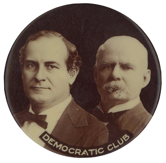 DEMOCRATIC CLUB  (Bryan & Stevenson)  1 3/4