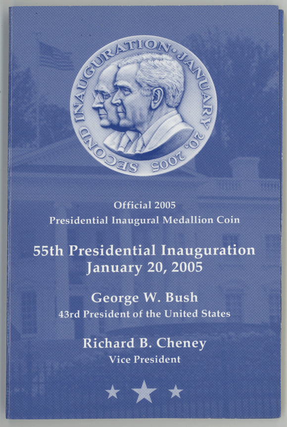 Official 2005 Bush & Cheney Inaugural medal