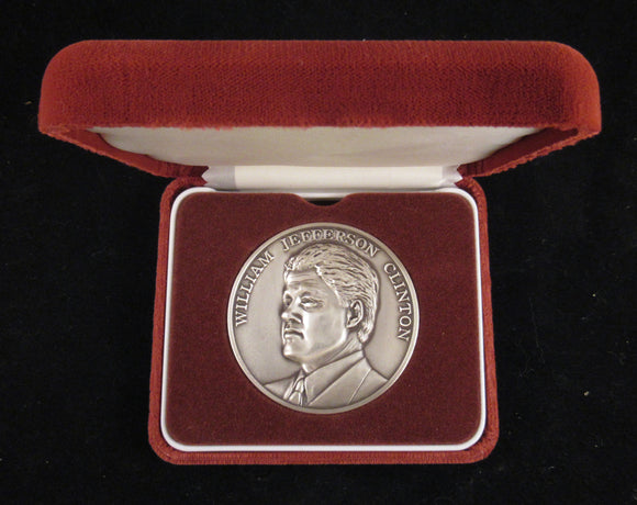 1993 Official silver Inauguration medal (Clinton)