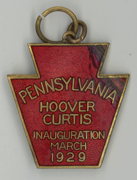 PENNSYLVANIA  HOOVER CURTIS INAUGURATION MARCH 1929