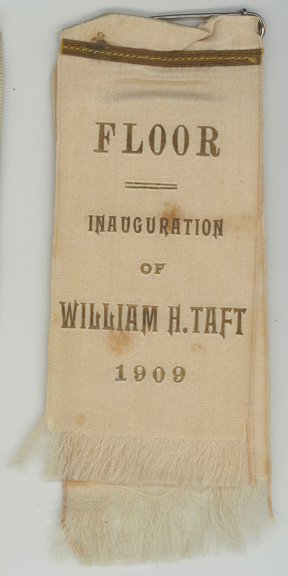 FLOOR  INAUGURATION OF WILLIAM H. TAFT  1909