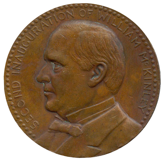Official 1901 McKinley Inaugural medal