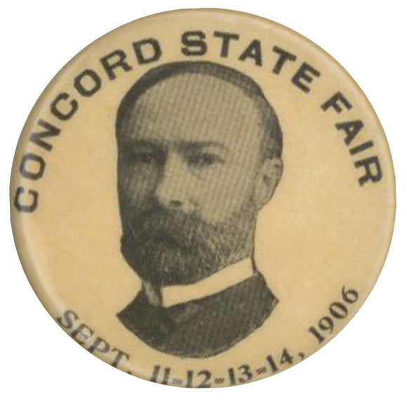 CONCORD STATE FAIR (Charles Fairbanks) SEPT. 11-12-13-14, 1906