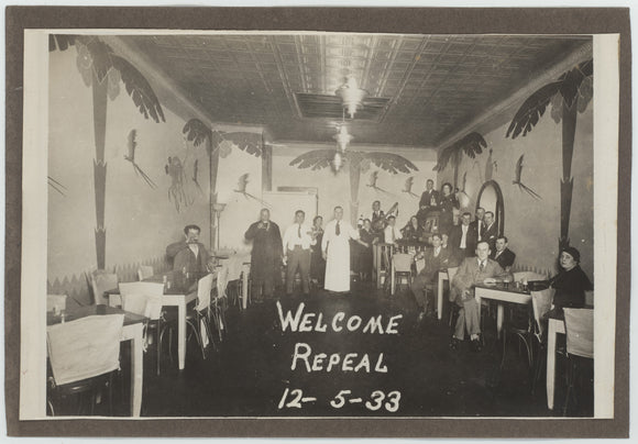 WELCOME REPEAL  12-5-33