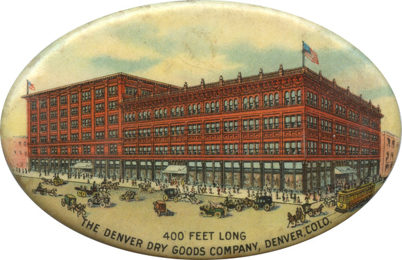 THE DENVER DRY GOODS COMPANY (pocket mirror)