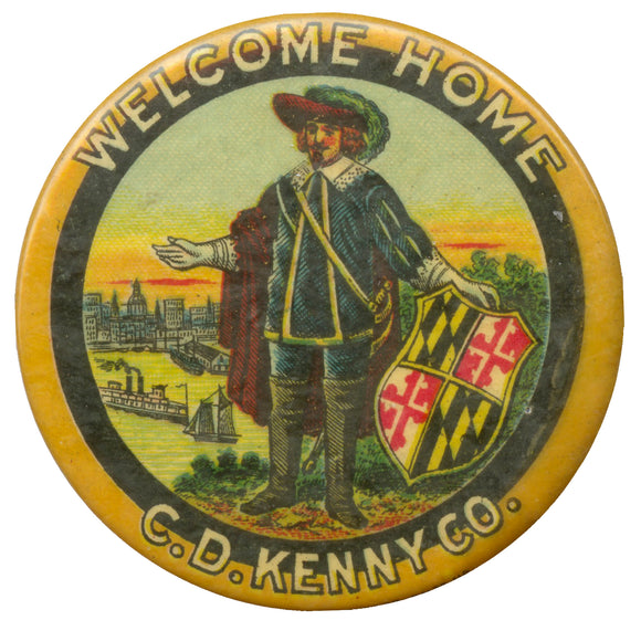WELCOME HOME  C.D. KENNY CO.