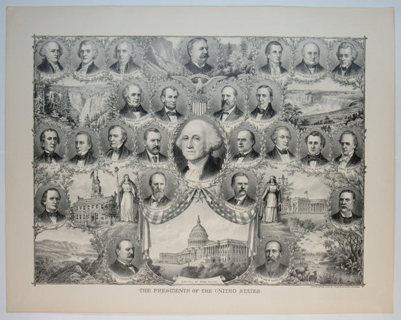 THE PRESIDENTS OF THE UNITED STATES  (Washington through Taft)