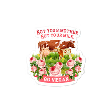 Load image into Gallery viewer, Bubble free sticker for vegan living to brighten the home