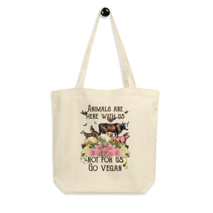 eco tote bag ideal for shopping or living at home