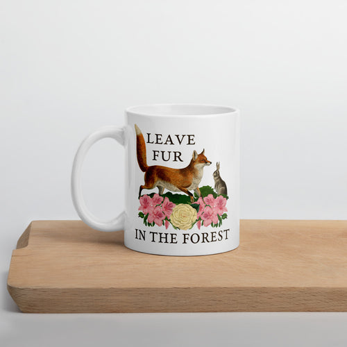 Leave Fur In The Forest Mug