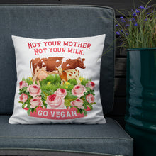 Load image into Gallery viewer, vegan pillow for home sofa living