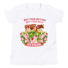 Load image into Gallery viewer, kids/ youth tee/T-shirt vegan living top