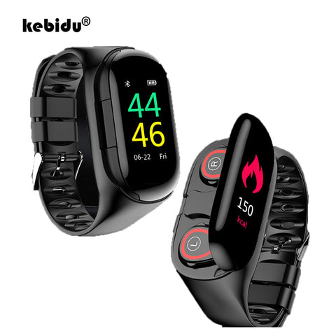 SmartWatch With Bluetooth Earbud