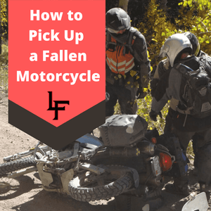 How to Pick Up a Heavy Motorcycle with Proper Form