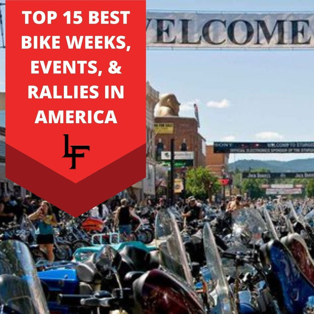 TOP 15 BEST BIKE WEEKS, EVENTS, & RALLIES IN AMERICA