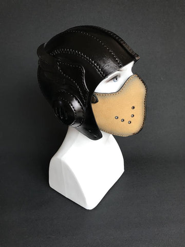 best leather motorcycle face mask