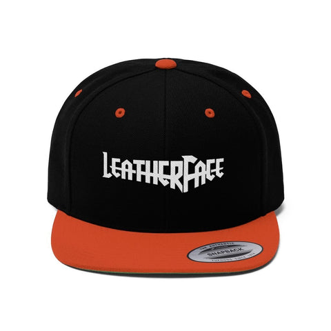 Leather Face Hat - Leather Face Motorcycle Gear