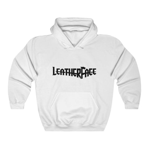 LF Logo Hooded Sweatshirt - Leather Face Motorcycle Gear