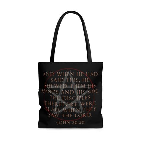 Trendy Pentagram Stigmata Tote Bag