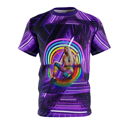 Neon Rainbow Realms Glory Tee