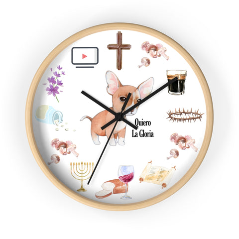 Quiero La Gloria Wall Clock