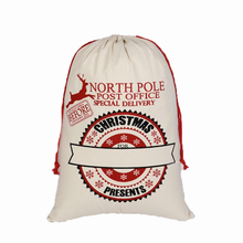 Load image into Gallery viewer, North Pole Post Office Gift Bag