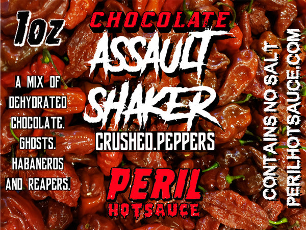 ASSAULT SHAKER - CHOCOLATE PEPPER FLAKES