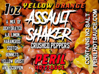 ASSAULT SHAKER - YELLOW & ORANGE PEPPER FLAKES